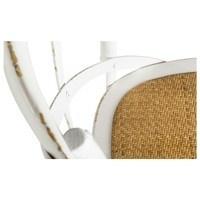 Jedálenská stolička XABI biela 4