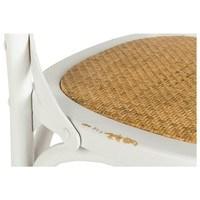 Jedálenská stolička XABI biela 5