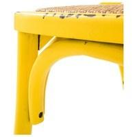 Jídelní židle XABI žlutá 5