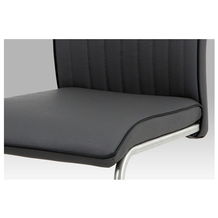 Sconto Jedálenská stolička ALYSSON sivá Jedálenská stolička kovovej konštrukcie.