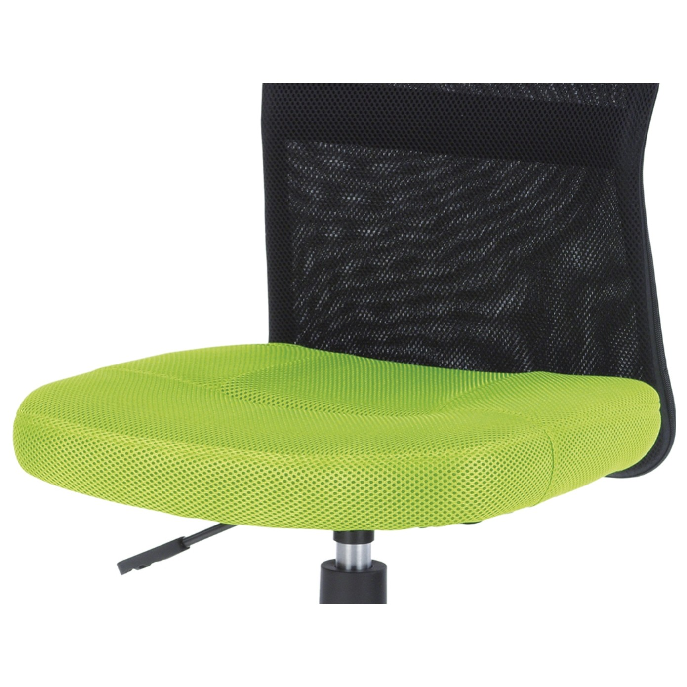 Sconto Kancelárska stolička BAMBI zelená/čierna Moderná otočná stolička.