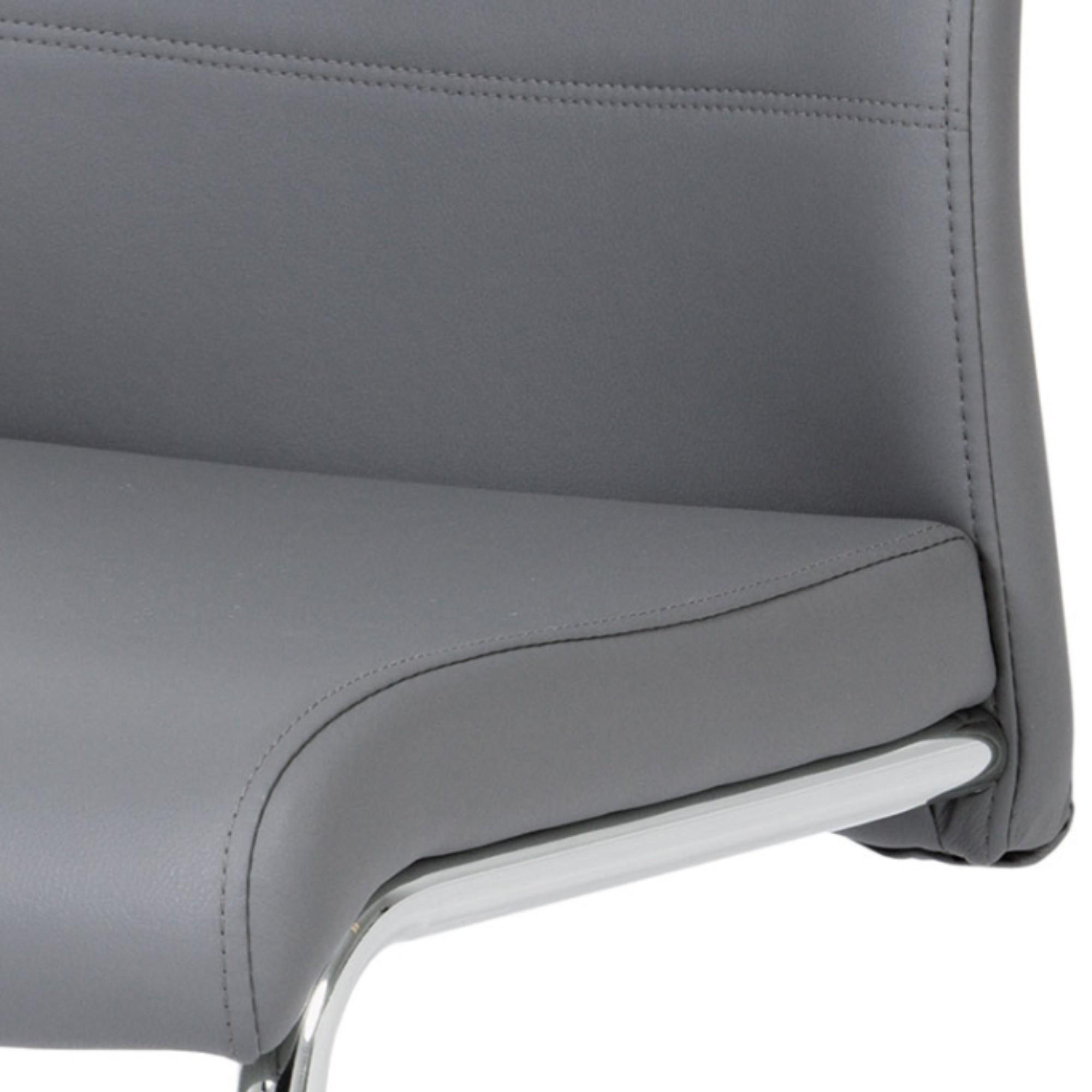 Sconto Jedálenská stolička BONNIE CAP sivá BONNIE CAP je klasická jedálenská stolička s čalúneným sedadlom a operadlom.