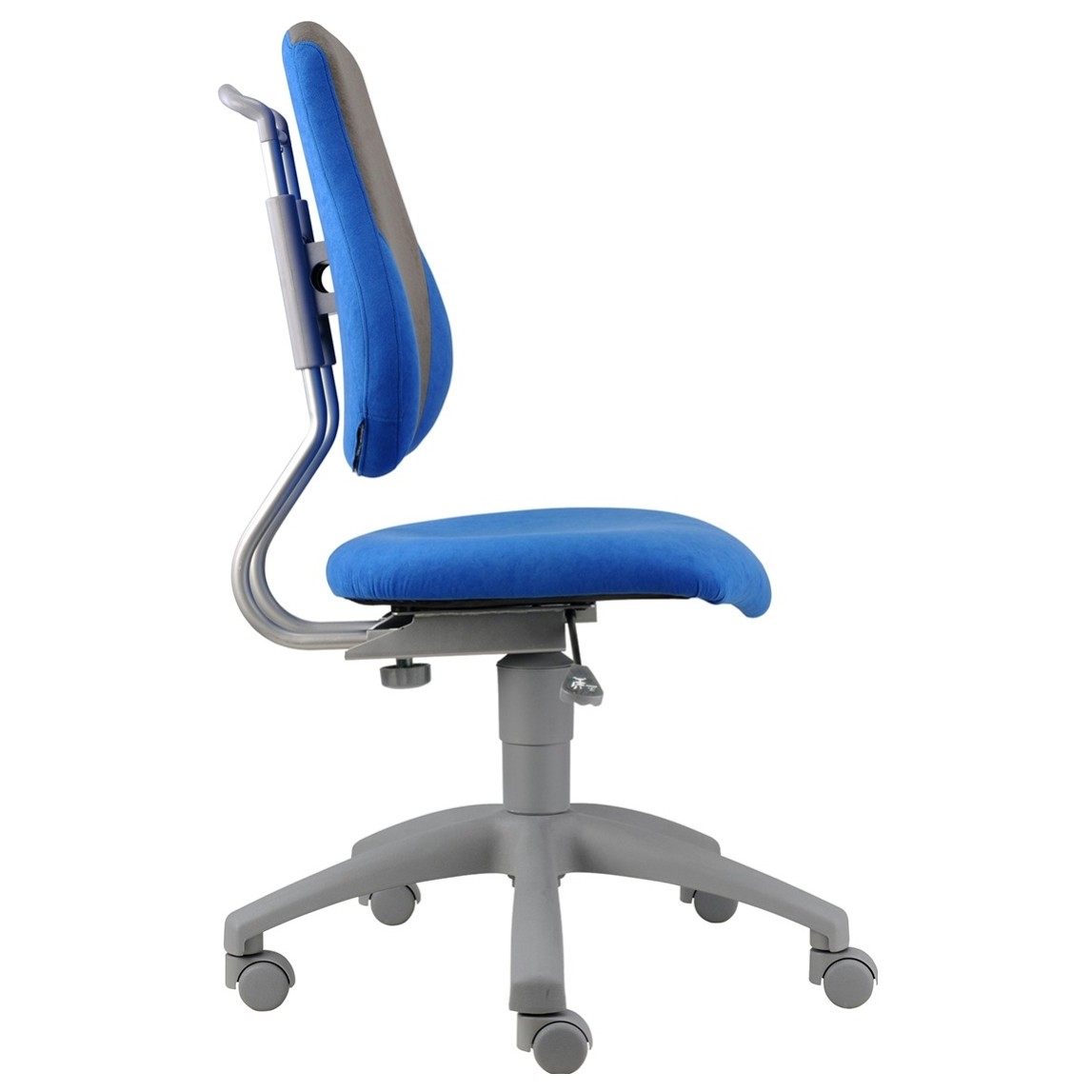 Sconto Detská stolička ELEN modrá/šedá Rastúca detská stolička.