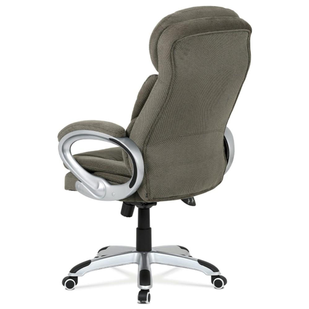 Sconto Kancelárske kreslo ESTEBAN sivá Elegantné kancelárske kreslo ESTEBAN s hojdacím mechanizmom v sivej látke so sivou konštrukciou.