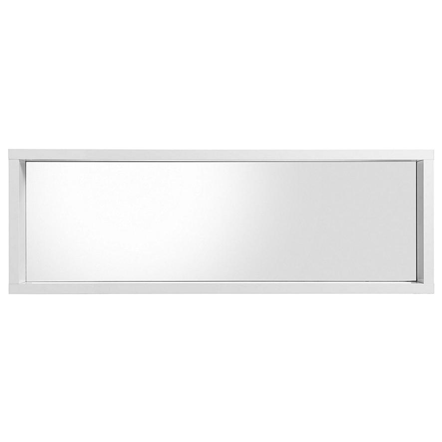 Sconto Zrkadlový panel FLAP 100 biela Dekoratívny a moderný zrkadlový panel s minimalistickým dizajnom nadchne po estetickej aj praktickej stránke.