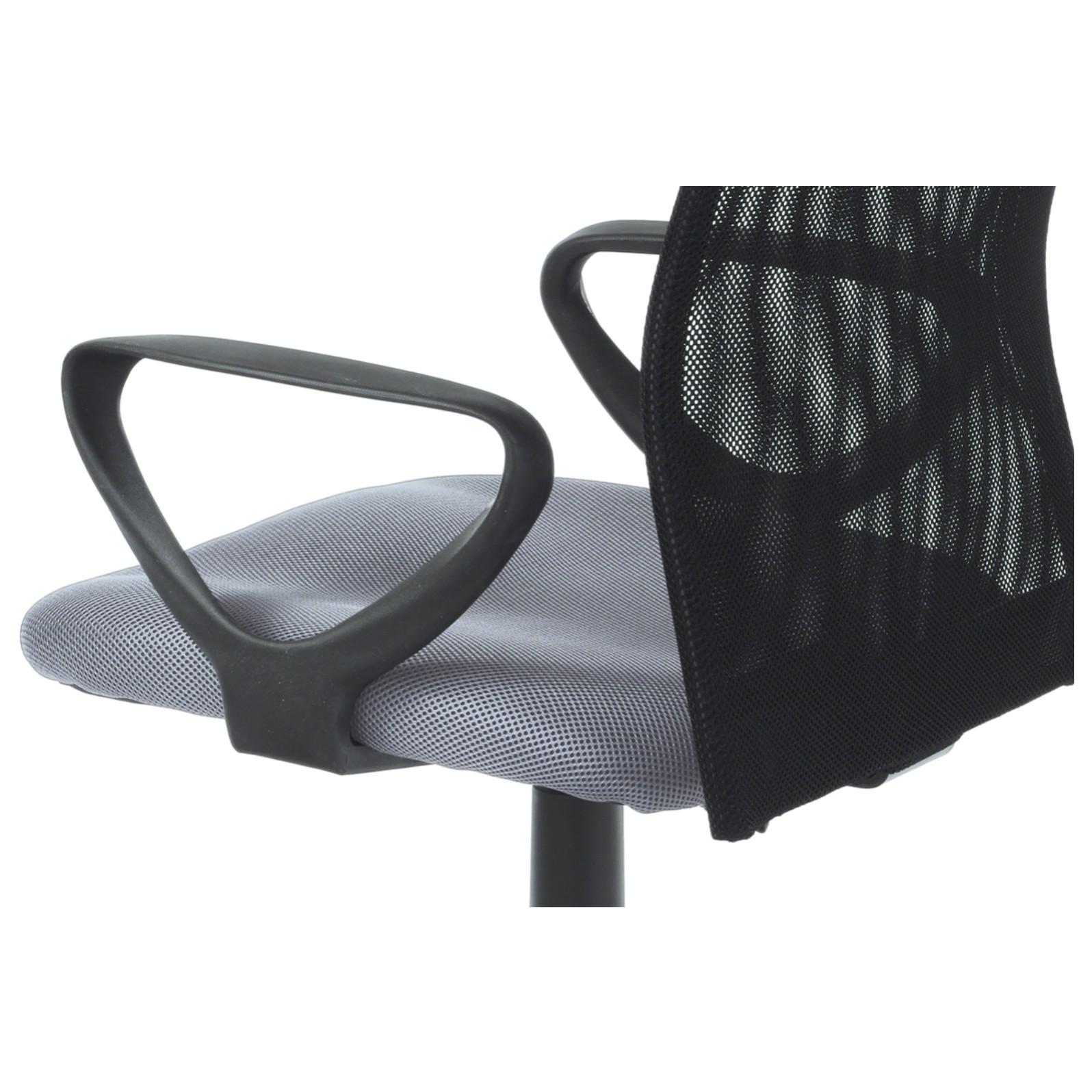 Sconto Kancelárska stolička FRESH sivá/čierna Moderná otočná stolička FRESH.