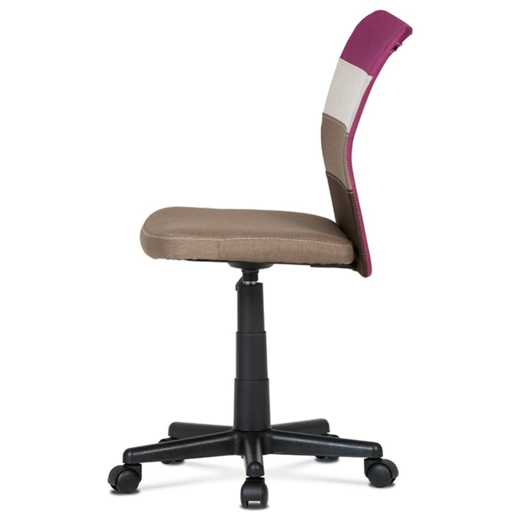 Sconto Otočná stolička IRWIN mix farieb purpurová Moderná detská otočná stolička IRWIN.